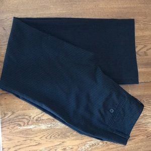 New York and Co black pinstripe pants